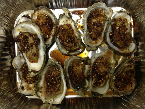 Max Huang's Roast Oysters