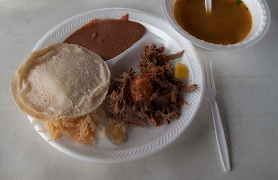 Barbacoa, arroz, frijoles, tortillas, salsa, sopa - all words we need to know!
